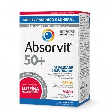 Absorvit 50+ 30 comprimidos