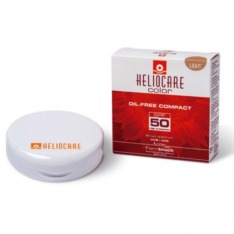 Heliocare Color Oil-Free Compact Tom Claro SPF50 10g