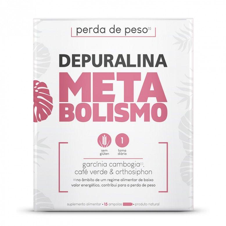 Depuralina Metabolismo 15 Ampolas