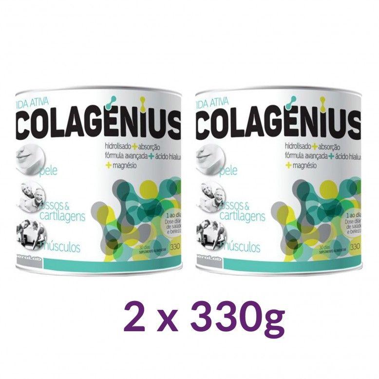 Colagenio Colagénius Active Duo Pó Neutro 2 x 330g