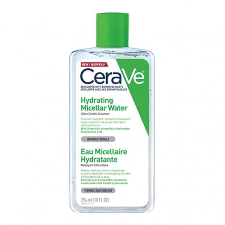 Cerave Micellar Cleansing Water Água Micelar 296ml