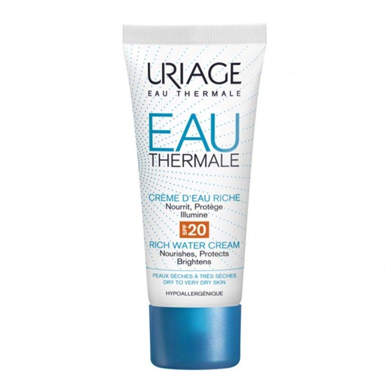 Uriage Eau Thermale Creme de Água Rico SPF20 40ml