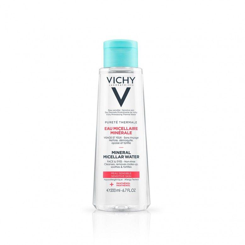 Vichy Pureté Thermale Água Micelar Mineral Pele Sensível 200ml