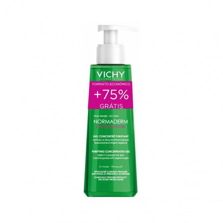 Vichy Normaderm Phytosolution Gel de Limpeza Purificante Intensivo 400ml