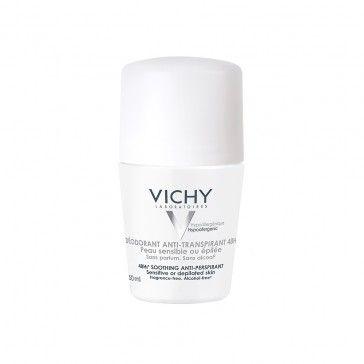 Vichy Deodorant Anti-perspirant Roll On Sensitive Skin 50ml