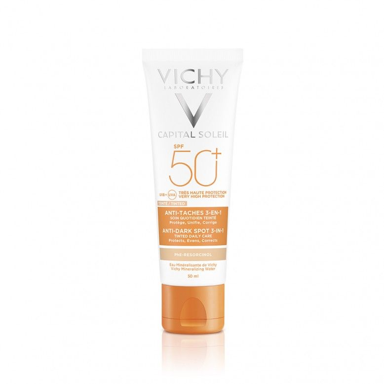 Vichy Idéal Soleil Anti-Manchas 3em1 FPS50+ 50ml