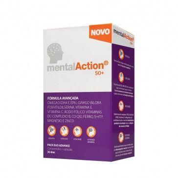 MentalAction 50+ 30 Comprimidos + 30 Cápsulas