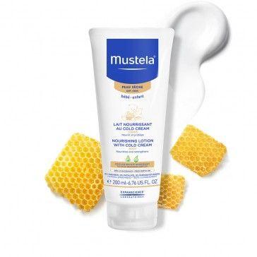 Mustela Bebé Leite Nutritivo Corporal Cold Cream 200ml