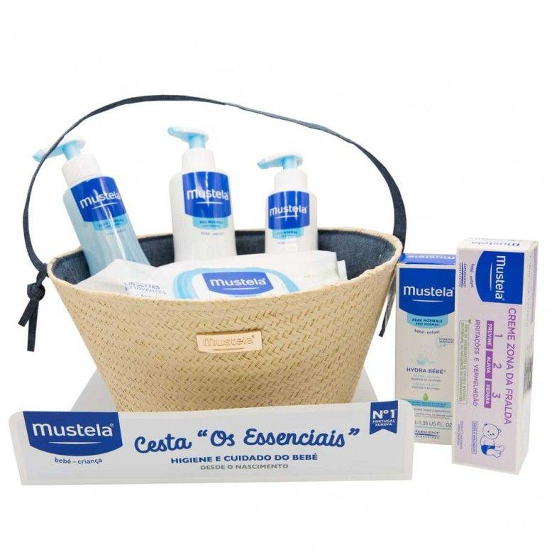 """Mustela Cesta """"Os Essenciais"""" Azul"""