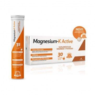 Magnesium-K Active 30 Comprimidos Efervescentes