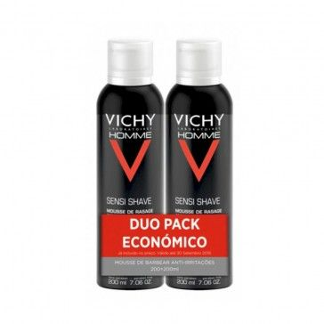 Vichy Homme Mousse Barbear 2 x 200ml