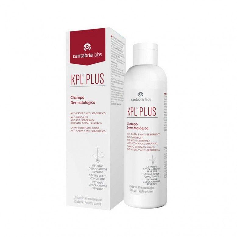 KPL Plus Champô Dermatológico Anti-Caspa e Anti-Seborreico 200ml