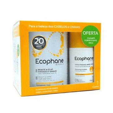 Ecophane Biorga Pó 318g + Champô Fortificante 100ml