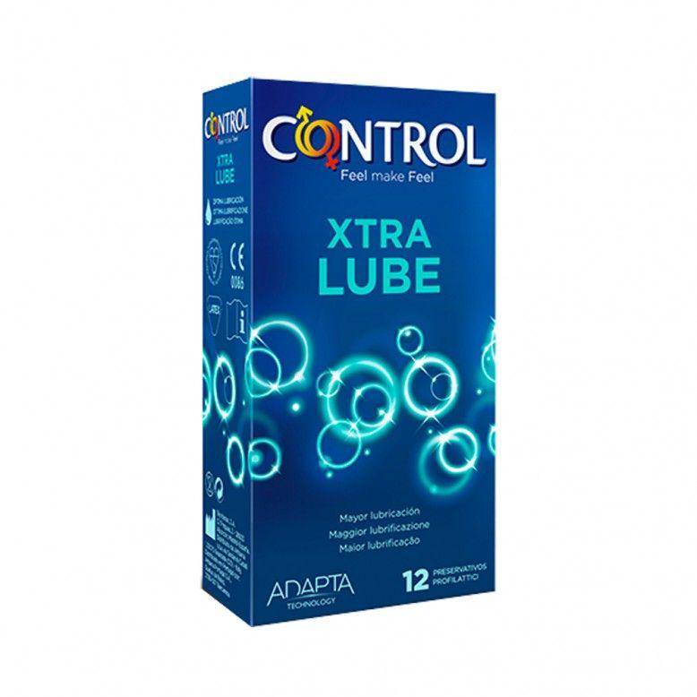Control Extra Lube Preservativos x12