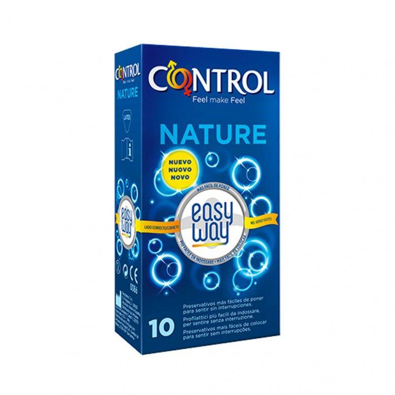 Control Nature Easy Way Preservativos x10