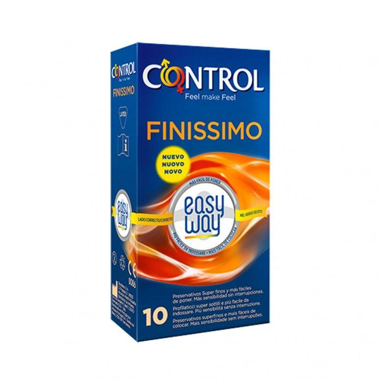 Control Finissimo Easy Way Preservativos x10