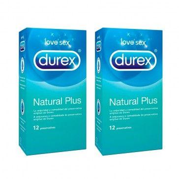 Durex Natural Preservativos 2x12