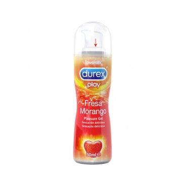 Durex Play Morango Gel Lubrificante 50ml