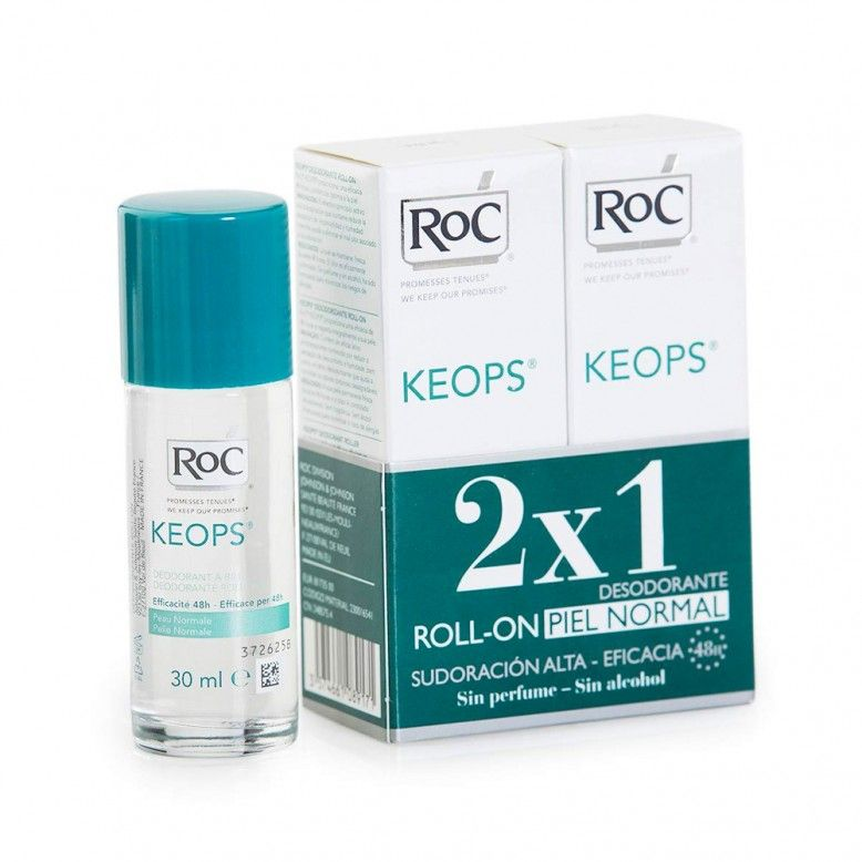RoC Keops Duo Desodorizante Roll On 2 x 30 ml