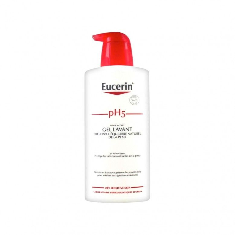 Eucerin pH5 Gel de Banho Pele Seca e Sensível 1000ml