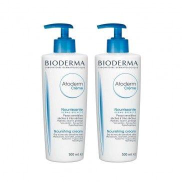 Bioderma Atoderm Pack Creme Hidratante 2 x 500ml