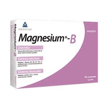 Magnesio B 30 tabletas