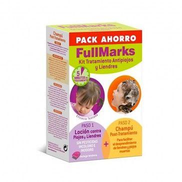 FullMarks Pack Anti-Piolhos e Anti-Lêndeas Loção 100ml + Champô Pós-Tratamento 150ml
