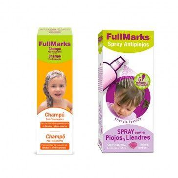 FullMarks Pack Anti-Piolhos e Anti-Lêndeas Champô 150ml + Spray 150ml