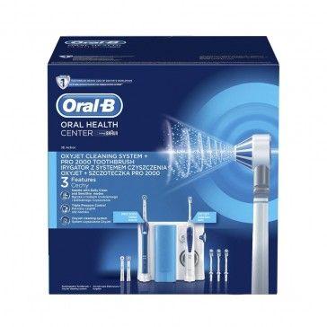 Oral-B Professional Care Centro Dentário Oxyjet + Escova Elétrica Pro 2000