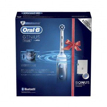 Oral-B GENIUS 8600 Electric Toothbrush + Bag + Refill