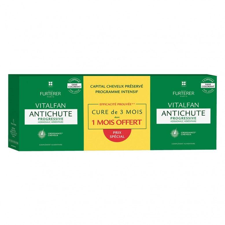 Rene Furterer Pack Vitalfan Queda Progressiva 3x30 cápsulas