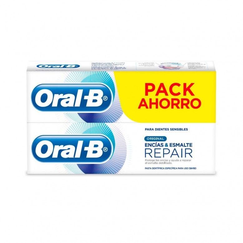 Oral-B Pasta Dentífrica Original Gengivas Esmalte Repair 2x100ml