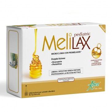 MeliLax Pediátrico 6 Micro-Clisteres 5g