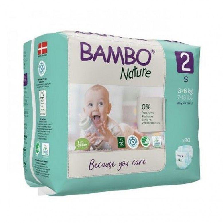 Bambo Nature 2 S 3-6kg x30