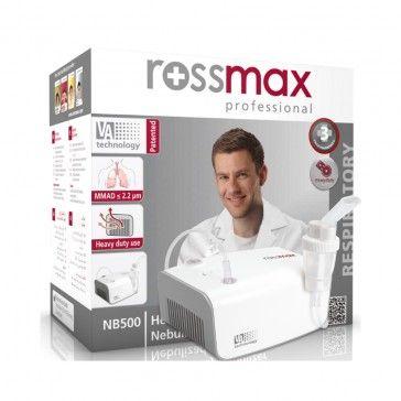 Rossmax Nebulizador Compressor com Pistão - NB500