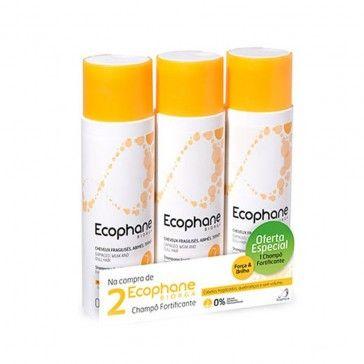 Ecophane Champô Fortificante 3 x 200ml