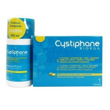 Cystiphane Pack 120 Comprimidos + Shampoo Antiqueda 100ml