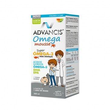Advancis Omega Mousse Laranja-Lima 200ml