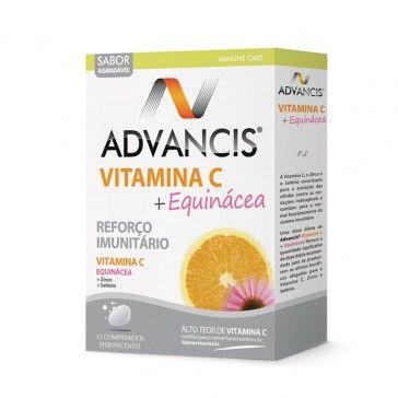 Vitamin C + Echinacea Advancis 12 effervescent tablets