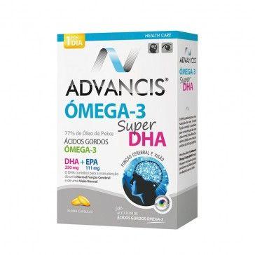 Advancis Ómega 3 Super DHA 30 Cápsulas