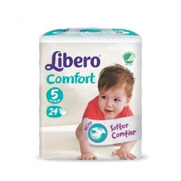Libero Fraldas Comfort Fit T5 10-14kg x24