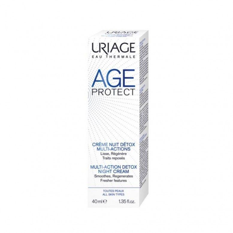 Uriage Age Prot Creme de Noite Detox 40ml