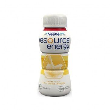 Resource Energy Solução Oral Sabor Baunilha 4x200ml