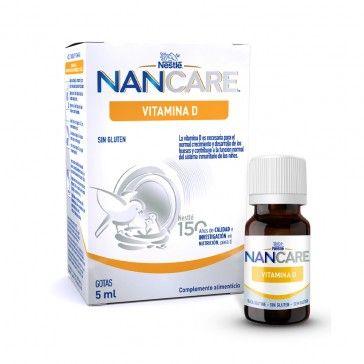 NANCARE Vitamina D Gotas 5ml
