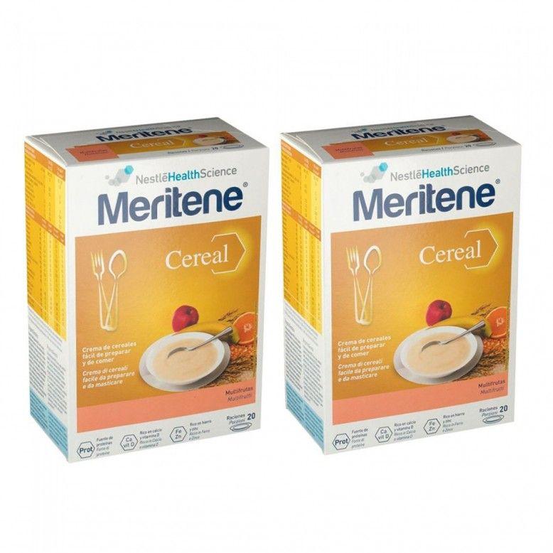 Meritene Cereal Instantâneo Multifrutas 2 x 300g