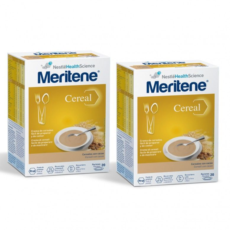 Meritene Cereal Instantâneo Cereais com Cacau 2 x 300g