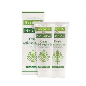 Botica Natural DUO Creme Anti-Transpirante 2x75g