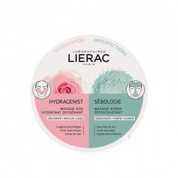 Lierac Duo Mask Hydragenist + Sébologie 2x6ml