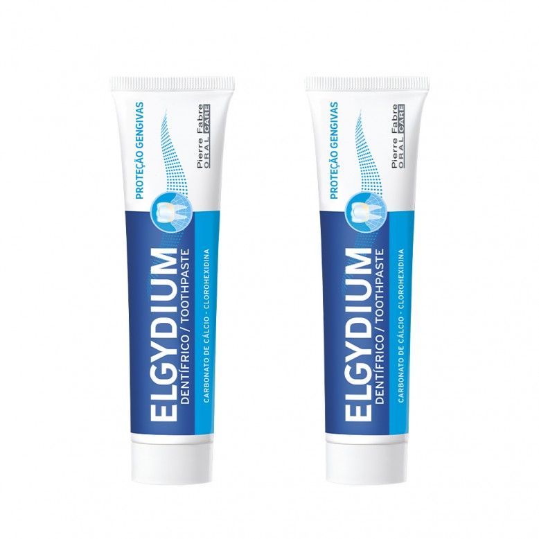 Elgydium Pasta Dentrífica Proteção Gengivas 2 x 75ml