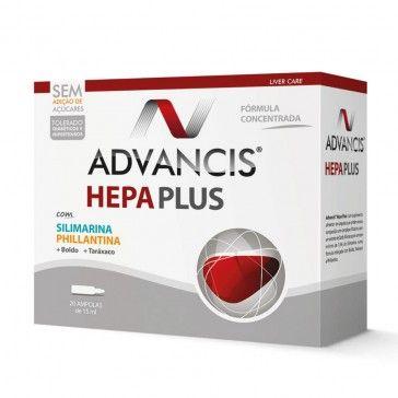 Advancis Hepa Plus 20 ampollas
